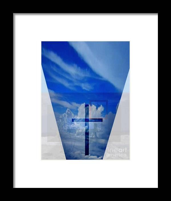 Inspirational Framed Print featuring the digital art Forever Settled by Brenda L Spencer
