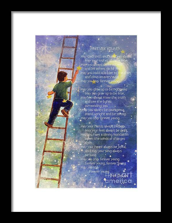 Forever Young Bob Dylan Lyrics by Vickie Wade