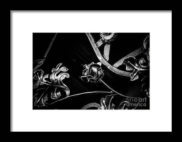 Forged Framed Print featuring the photograph Forged Pattern by Lyudmila Prokopenko