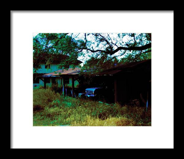 Old Framed Print featuring the photograph Forgotten by Carl Perry