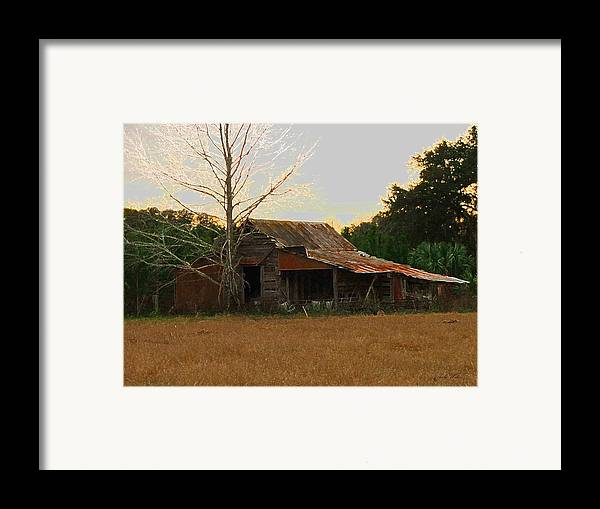 Old Framed Print featuring the photograph Forgotten Dreams by Judy Waller