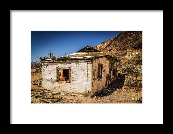 Nature Framed Print featuring the photograph Forgotten Place by Mirko Chianucci