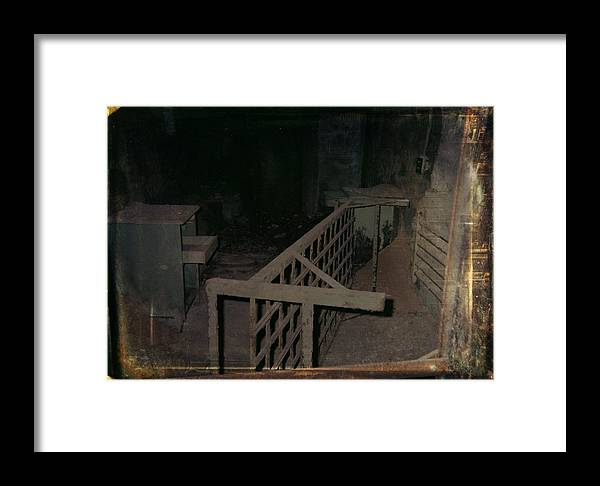 Abandoned Building Framed Print featuring the photograph Forgotten Room by Gothicrow Images