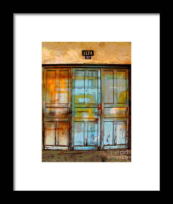 Darian Day Framed Print featuring the photograph Forgotten Trio 1 By Darian Day by Mexicolors Art Photography