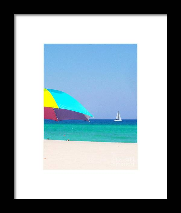 Beach Framed Print featuring the photograph Fort Lauderdale Beach by Allan Einhorn