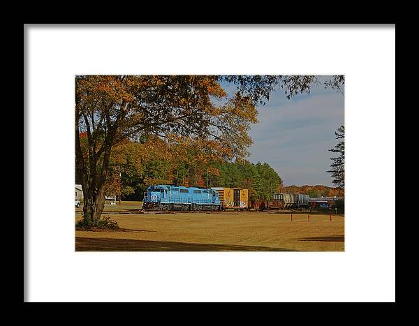 Lc 14 Framed Print featuring the photograph Fort Lawn Train 14 by Joseph C Hinson Photography