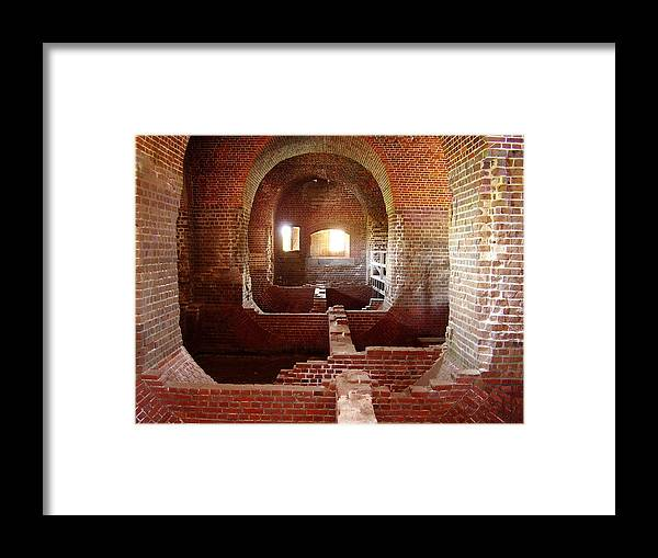 Fort Pulaski Framed Print featuring the photograph Fort Pulaski I by Flavia Westerwelle