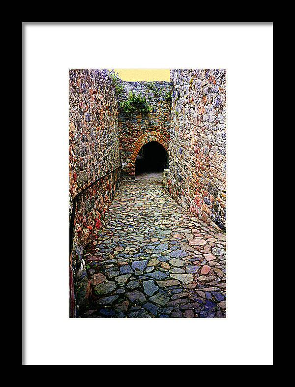 Stone Framed Print featuring the photograph Fortress by Alexandra Cook