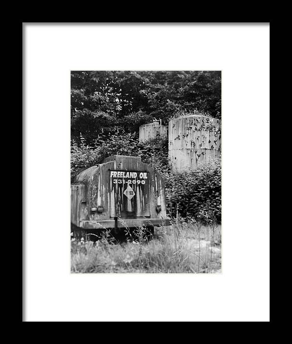 Environment Framed Print featuring the photograph Fossil Fuels by Jim Furrer