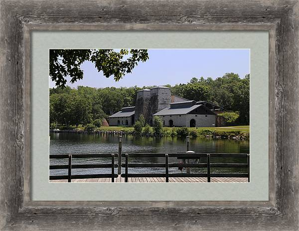 Foundry Building Fayette State  Park 2 by Mary Bedy