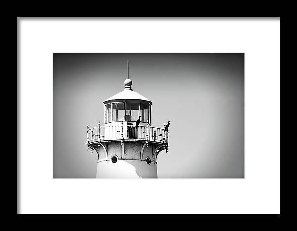 Fourteen Foot Shoal Lighthouse Framed Print featuring the photograph Fourteen Foot Shoal Lighthouse by IMH Photog