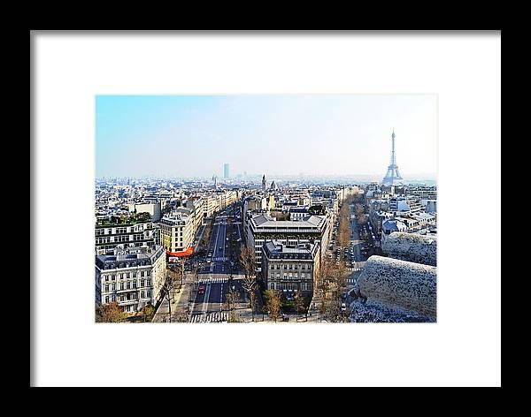 France Framed Print featuring the photograph France Montmartre Paris by HazelPhoto