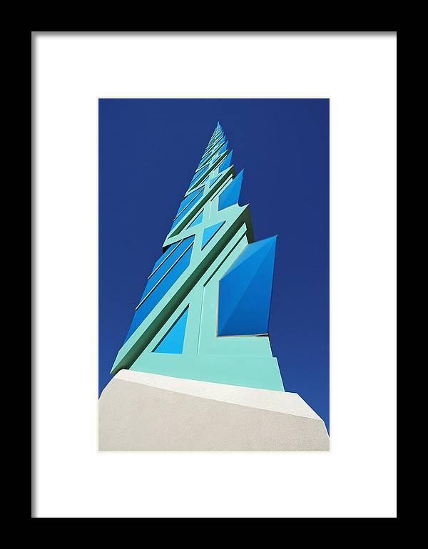 Scottsdale Memorial Arizona Az Framed Print featuring the photograph Frank Lloyd Wright by Jon Daly