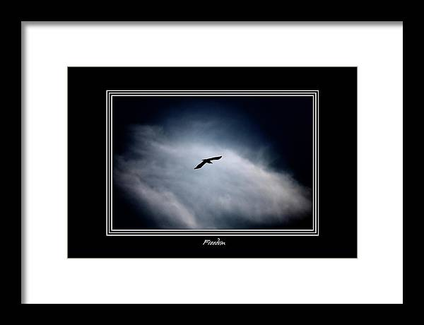 Abstract Framed Print featuring the photograph Freedom by Lu Lu Kyaw Tin Oo