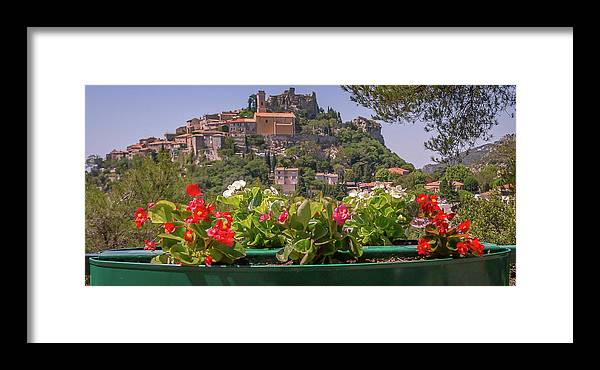 Travel Framed Print featuring the photograph French Flowers by Scott Ricks