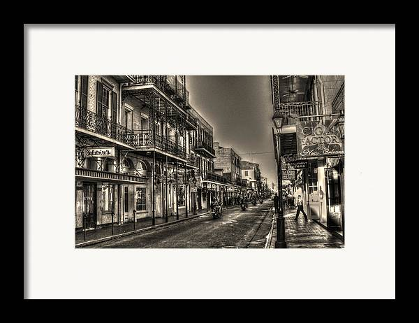 French Quarter Framed Print featuring the photograph French Quarter Ride by Greg and Chrystal Mimbs