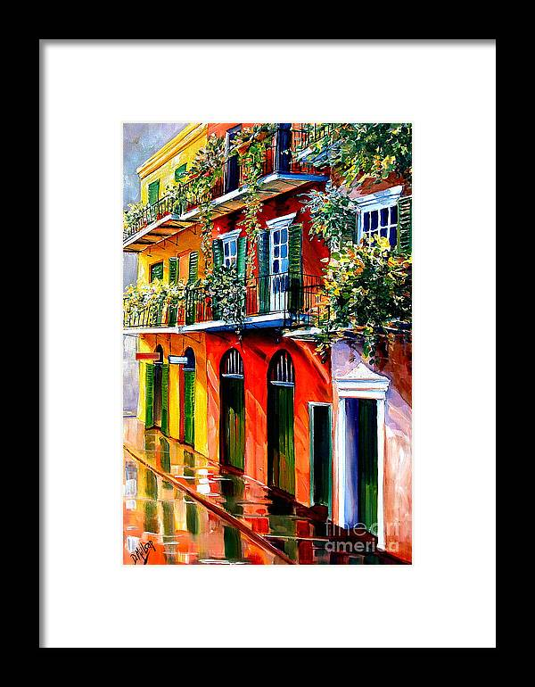 New Orleans Framed Print featuring the painting French Quarter Sunshine by Diane Millsap