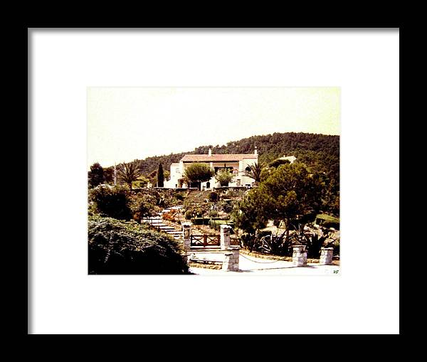 1955 Framed Print featuring the photograph French Riviera 1955 by Will Borden