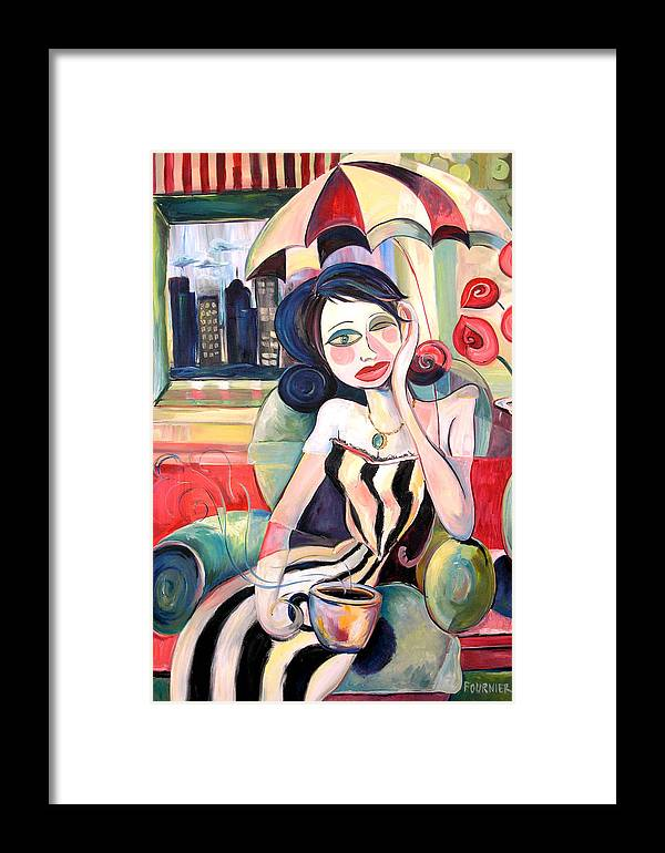 Recovery Framed Print featuring the painting Fresh And Strong by Jenna Fournier