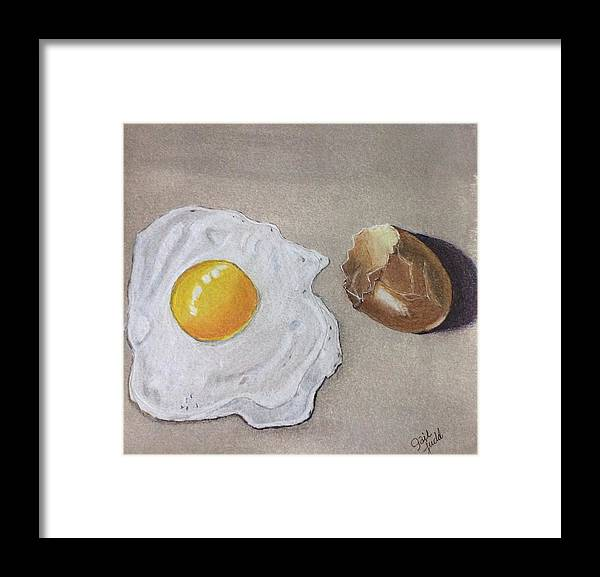 Food Framed Print featuring the painting Fresh by Gail Grundberg Judd