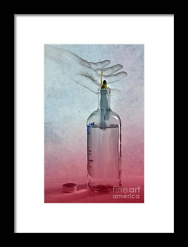 Alcohol Framed Print featuring the photograph From Absolut Hell To Hope by Jacqueline Milner
