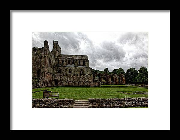 Melrose Framed Print featuring the photograph From The North by John Kenealy