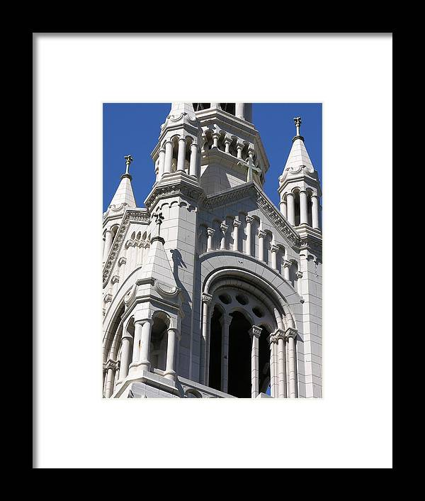 Architecture Framed Print featuring the photograph From The Square by C Thomas Cooney