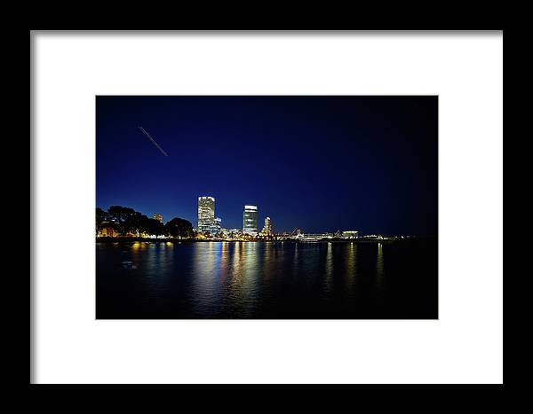 Www.cjschmit.com Framed Print featuring the photograph From Where I Stand by CJ Schmit