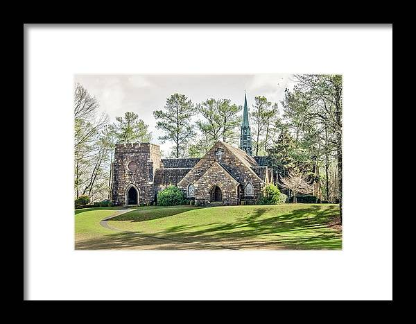 Frost Memorial Chapel Framed Print featuring the photograph Frost Memorial Chapel by Tina Cannon