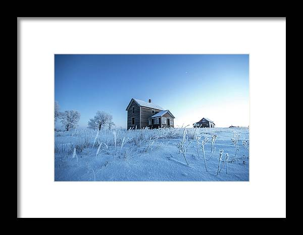 Montrose Framed Print featuring the photograph Frosted by Aaron J Groen