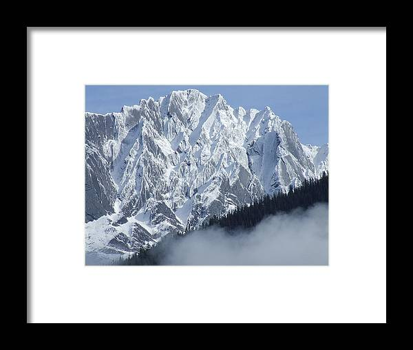 Rocky Framed Print featuring the photograph Frozen In Time by Tiffany Vest