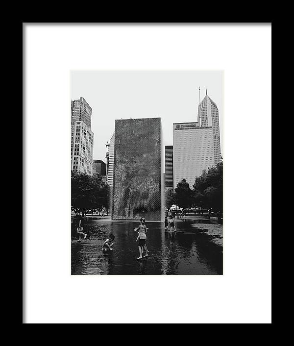 Millenium Park Framed Print featuring the photograph Frozen by Margaret Fronimos