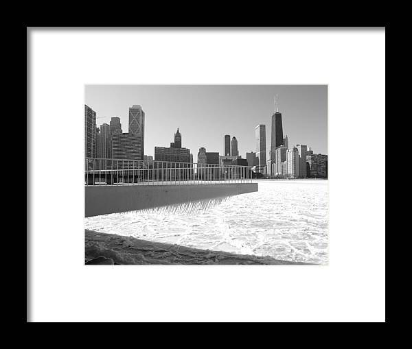 Chicago Framed Print featuring the photograph Frozen Over by Jacob Stempky
