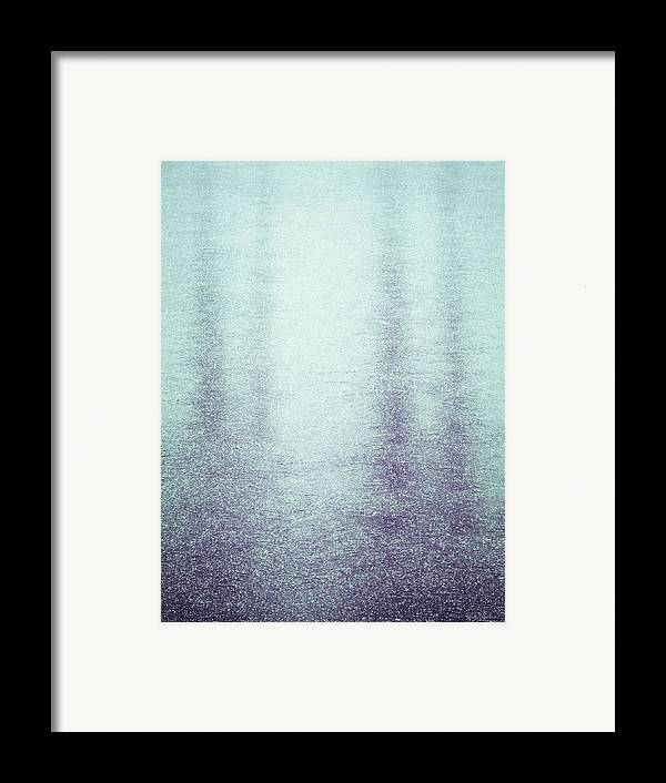 Frozen Framed Print featuring the photograph Frozen Reflections by Wim Lanclus