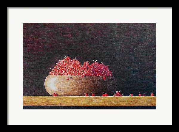 Still Life Framed Print featuring the painting Full Life by A Robert Malcom
