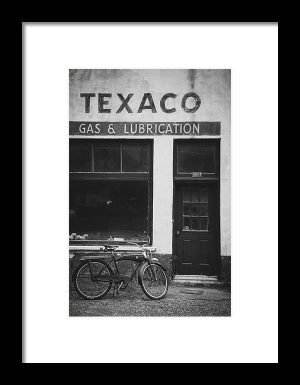 Black Framed Print featuring the photograph Full Service by Pierre Cornay