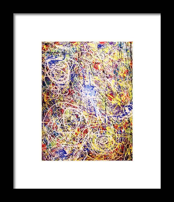Art Framed Print featuring the painting Fun In The Sun by HollyWood Creation By linda zanini