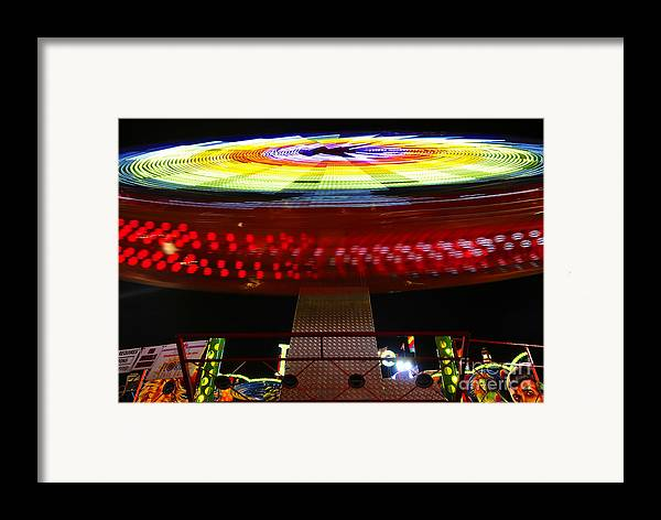 Enterprise Framed Print featuring the photograph Fun With Spock by David Lee Thompson