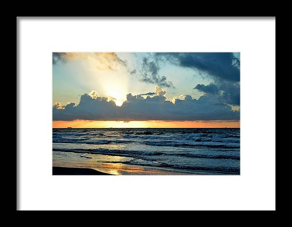 Galveston Framed Print featuring the photograph Galaveston Tx 358 by Lawrence Hess