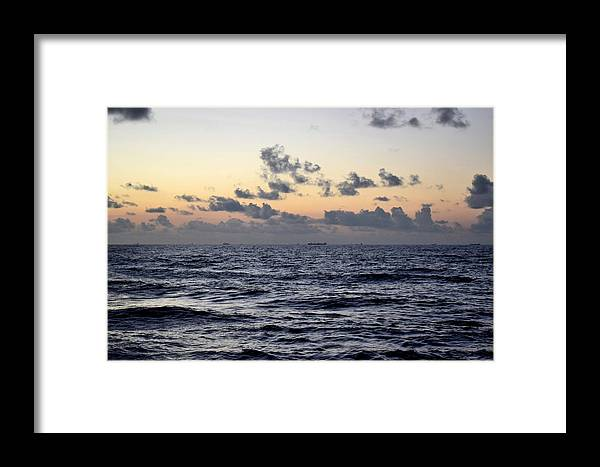 Galveston Framed Print featuring the photograph Galveston Tx 331 by Lawrence Hess