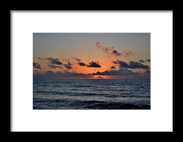 Galveston Framed Print featuring the photograph Galveston Tx 333 by Lawrence Hess