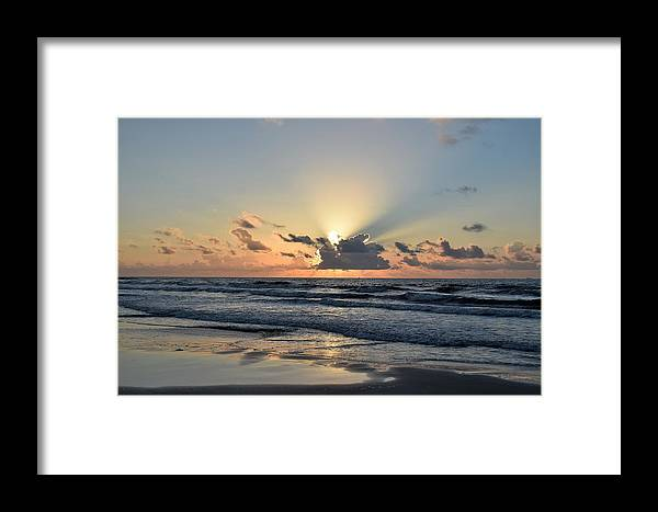 Galveston Framed Print featuring the photograph Galveston Tx 339 by Lawrence Hess