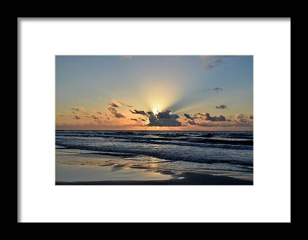 Galveston Framed Print featuring the photograph Galveston Tx 340 by Lawrence Hess