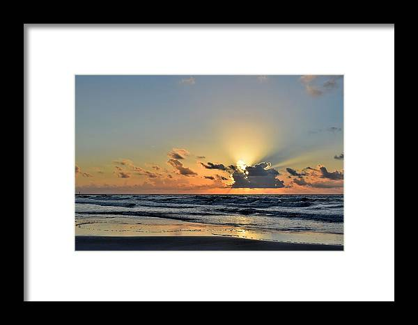 Galveston Framed Print featuring the photograph Galveston Tx 343 by Lawrence Hess