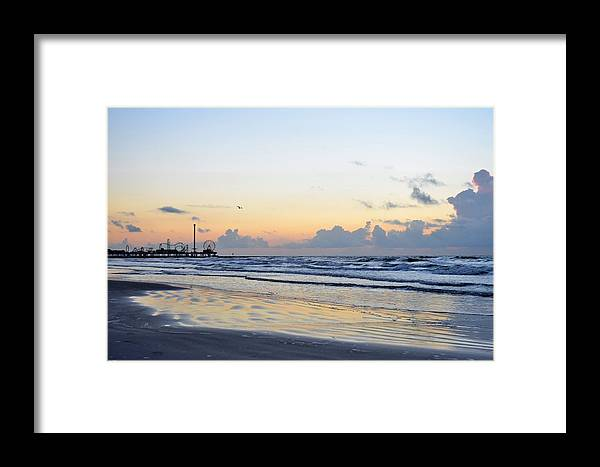 Galveston Framed Print featuring the photograph Galveston Tx 346 by Lawrence Hess