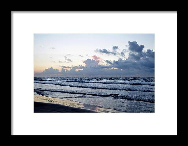 Galveston Framed Print featuring the photograph Galveston Tx 347 by Lawrence Hess