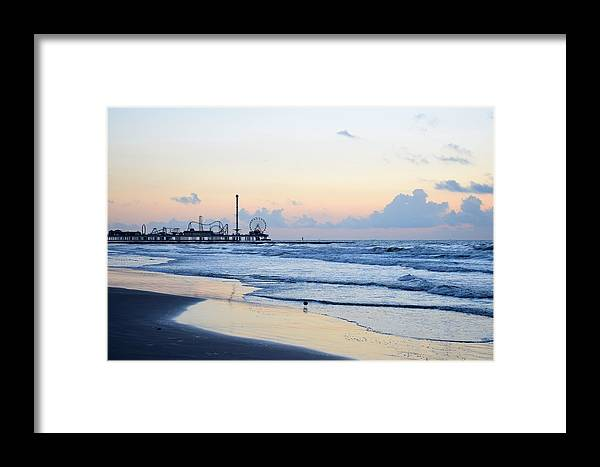 Galveston Framed Print featuring the photograph Galveston Tx 349 by Lawrence Hess