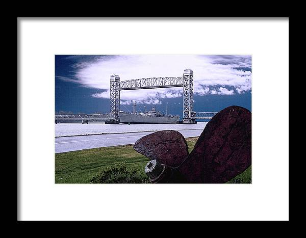 Liberty Framed Print featuring the photograph Gangway For Liberty C8 by BuffaloWorks Photography