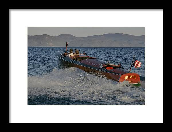 Boat Framed Print featuring the photograph Gar Classic by Steven Lapkin