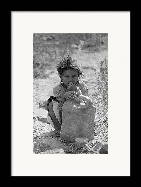 Tres Quebradas Framed Print featuring the photograph Gascan by Marcus Best